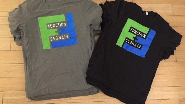 FREE- F Squared 'FUNCTION & FITNESS' t-shirts!